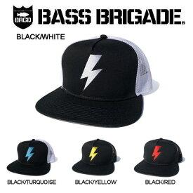 【BASS BRIGADE】バスブリゲード 2019春夏 BOLT TRUCKER HAT メンズ キャップ トラッカーキャップ スナップバック 4カラー