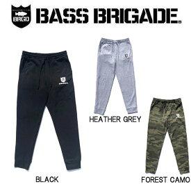 【BASS BRIGADE】バスブリゲード 2019 BRGD SWEAT PANTS メンズ スウェットパンツ ロング 裏起毛 アウトドア フィッシング 釣り 3カラー S~XXL【あす楽対応】