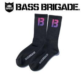 【BASS BRIGADE】バスブリゲード 2019 THE B GRADIENT SOCKS メンズ ソックス アウトドア フィッシング 釣り 25cm~30cm【あす楽対応】