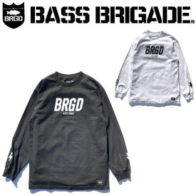 【BASS BRIGADE】バスブリゲード 2020春夏 BRGD FRAME LS TEE メンズ ロングスリーブTシャツ ロンT アウトドア フィッシング 釣り M / L / XL 2カラー【あす楽対応】