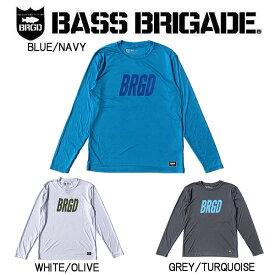 【BASS BRIGADE】バスブリゲード 2019 FRAME LOGO PERFORMANCE L/S TEE メンズ ロングスリーブ Tシャツ 長袖 アウトドア フィッシング 釣り 3カラー S~XXL【あす楽対応】
