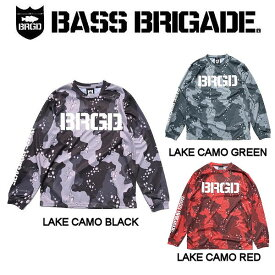 【BASS BRIGADE】バスブリゲード 2019春夏 LAKE CAMO UV CUT L/S TEE メンズ ロングスリーブTシャツ ロンT アウトドア フィッシング 釣り 3カラー S・M・L・XL