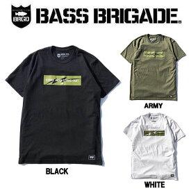 【BASS BRIGADE】バスブリゲード 2019秋冬 STRIKE HARD STRIKE FAST BOX TEE メンズ Tシャツ 半袖 アウトドア フィッシング 釣り 3カラー S・M・L・XL・XXL【あす楽対応】