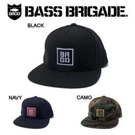 【BASS BRIGADE】バスブリゲード 2019春夏 B-BOLT SNAPBACK HAT メンズ キャップ スナップバック 3カラー