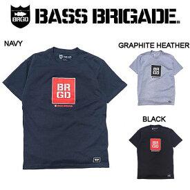 【BASS BRIGADE】バスブリゲード 2019春夏 SQUARE BOX TEE メンズ Tシャツ 半袖 アウトドア フィッシング 釣り 3カラー S・M・L・XL・XXL