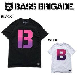 【BASS BRIGADE】バスブリゲード 2019 THE B GRADIENT TEE メンズ Tシャツ 半袖 アウトドア フィッシング 釣り 2カラー S・M・L・XL・XXL【あす楽対応】