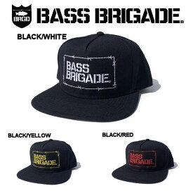 【BASS BRIGADE】バスブリゲード 2019春夏 WIRED BB SNAPBACK HAT メンズ キャップ スナップバック 3カラー