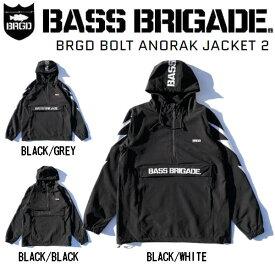 【BASS BRIGADE】バスブリゲード 2020秋冬 BRGD BOLT ANORAK JACKET 2 メンズ ボルト アノラック ジャケット アウトドア フィッシング S / M / L / XL 3カラー【あす楽対応】