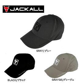 【JACKALL】ジャッカル SQUARE LOGO CAP2 スクエアロゴキャップタイプ2 軽量 メッシュ 帽子 スナップバック 3カラー【あす楽対応】