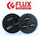 【FLUX BINDING 】フラック ビンディング バートン板用 3ホール ディスク プレート BURTONのボードに取り付けるパーツ 3HOLE DISCS バインディングパーツ/2個セット【あす