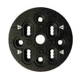 【FLUX BINDING 】フラック ビンディング バートンEST板用 2ホール 4×4 ディスク プレート BURTON ESTのボード 4×4 の両方に取り付け可 2HOLE 4×4 バインディングパーツ