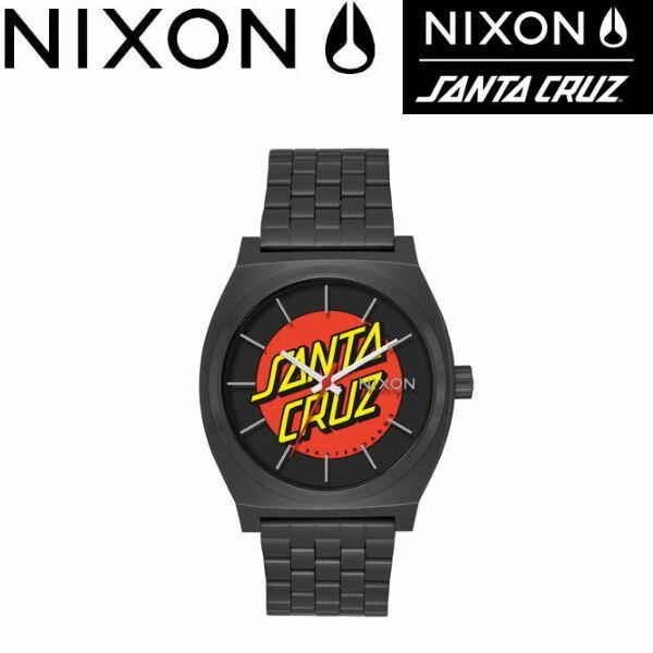 【NIXON】ニクソン THE TIME TELLER メンズ レディース ウォッチ アナログ腕時計 タイムテラー SANTA CRUZ BLACK/SANTA CRUZ 【あす楽対応】正規品