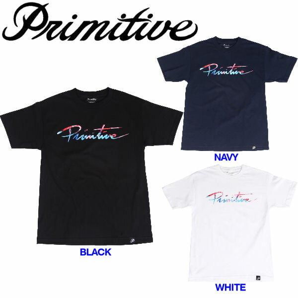 【Primitive】プリミティブ2016春夏 Nuevo Script Tee メンズTシャツ 半袖ティーシャツ S-XL 3カラー【あす楽対応】