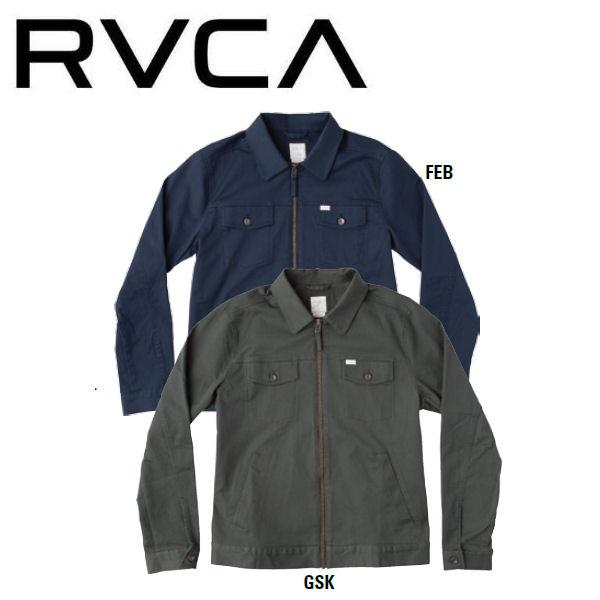 【RVCA】ルーカ 2017秋冬 SPANKY TRUCKER メンズ トラッカージャケット アウター S・M・L 2カラー【あす楽対応】