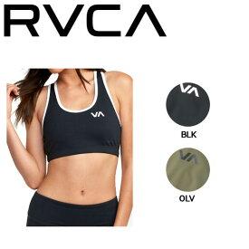 【RVCA】ルーカ 2019春夏 VA TAKEDOWN SPORTS レディース ブラトップ スポーツブラ トップス 水着 SUP ヨガ 水陸両用 RVCA SPORT XS・S 2カラー