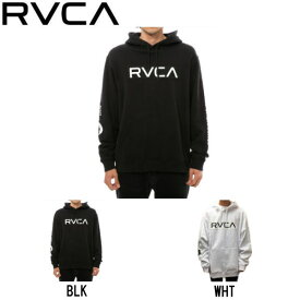 【RVCA】ルーカ 2019秋冬 PATCH RVCA HOODIE メンズ パーカー プルオーバー トップス スケートボード サーフィン S / M / L / XL 2カラー【あす楽対応】