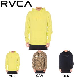 【RVCA】ルーカ 2019秋冬 メンズ BIG RVCA HOODIE パーカー スウェット トップス サーフィン スケートボード S/M/L 3カラー【あす楽対応】