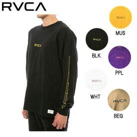 【RVCA】ルーカ 2019秋冬 INT HAZ LS TEE メンズ ロングスリーブTシャツ ロンT トップス スケートボード サーフィン XS / S / M / L 5カラー【あす楽対応】