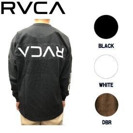 【RVCA】ルーカ 2019秋冬 PATCH RVCA LS TEE ルーカ メンズ パッチ ルーカ ロングスリーブ Tシャツ ロンT トップス S / M / L 2カラー【あす楽対応】