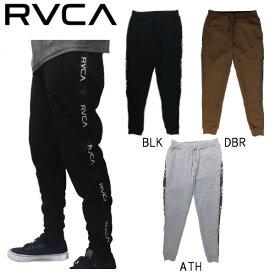 【RVCA】ルーカ 2019秋冬 LINE RVCA SWEAT PANT メンズ スウェットパンツ ロング サイドライン スケートボード サーフィン XS / S / M / L / XL 3カラー【あす楽対応】