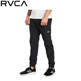 【RVCA】ルーカ 2019秋冬 RVCA SPORT TRANSPORTER TRACK PANT ルーカ スポーツ メンズ ロングパンツ XS / S / M / L / XL ブラック【あす楽対応】