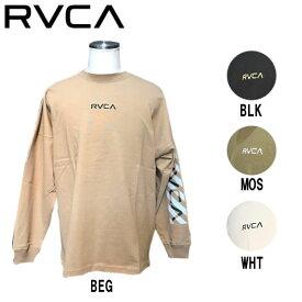 【RVCA】ルーカ 2020春夏 メンズ BACK RVCA BIG LS TEE ロングスリーブ Tシャツ ロンT トップス サーフィン スケートボード S/M/L 4カラー【あす楽対応】