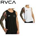 【RVCA】ルーカ 2020春夏 RVCA メンズ RVCA LANE TANK ラッシュガード トレーニング ジム ラッシュタンク サーフィン …
