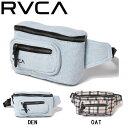 【RVCA】ルーカ 2020春夏 RVCA レディース RECRUIT BUM BAG バッグ スケートボード サーフィン トレーニング サコッシ…