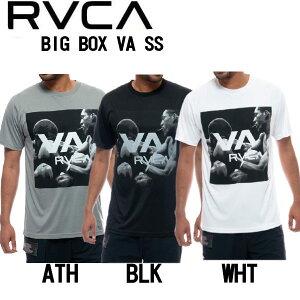 【RVCA】ルーカ 2021春夏 RVCA SPORT メンズ BIG BOX VA SS ラッシュガード ラッシュガード サーフィン ボディーボード プール 海 半袖トップス S/M/L/XL 3カラー【あす楽対応】