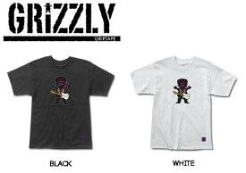 【GRIZZLY】グリズリー2016秋冬 JIMI BEAR TEE メンズTシャツ 半袖Tee ティーシャツ クルーネック M-XL 2カラー