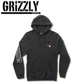 【GRIZZLY】グリズリー2016秋冬 HENDRIX HOODIE メンズプルオーバーパーカー パーカー 長袖 S-XL BLACK