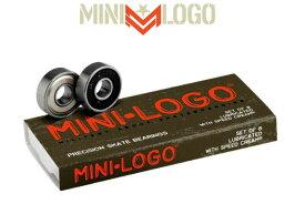【MINI LOGO】ミニロゴ 8-PACK ベアリング スケートボード スケボー sk8/8個1セット