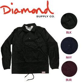 【DIAMOND SUPPLY CO】ダイアモンド 2017秋冬 DIAMOND SCRIPT COACHES JACKET メンズ コーチジャケット ライトジャケット ロングスリーブ M・L 3カラー