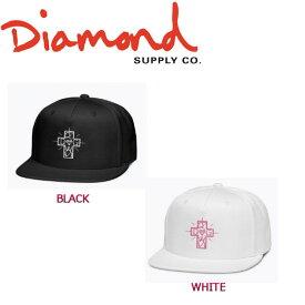 【DIAMOND SUPPLY CO】ダイヤモンド ドッグタウン コラボ 2017秋冬 DIAMOND X DOGTOWN STRAPBACK CAP メンズ キャップ ストラップバック 帽子 2カラー