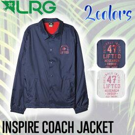 【LRG】エルアールジー2017春夏 INSPIRE COACHES JACKET メンズコーチジャケット アウター 2カラー【あす楽対応】