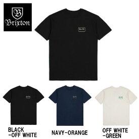 【BRIXTON】ブリクストン 2018秋 FALL HOLIDAY フォール GRADE S/S STANDARD TEE メンズ 半袖Tシャツ ティーシャツ トップス S・M・L 3カラー