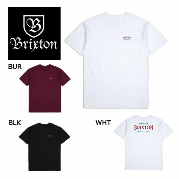 【BRIXTON】ブリクストン 2018春夏 CINEMA S/S STANDARD TEE メンズ半袖Tシャツ ティーシャツ ショートスリーブ バックプリント トップス S-XL 3カラー【あす楽対応】