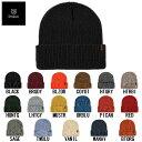 【BRIXTON】ブリクストン 2019 秋冬 HEIST BEANIE メンズビーニー ニット帽 帽子 折り返し 17カラー【あす楽対応】