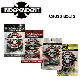 【INDEPENDENT】インデペンデント インディ Genuine Parts Phillips Hardware Black スケートボード トラック専用 ナット ネジ ビス(8セット)7/8インチ 1インチ 1 1/4インチ 1 1/2インチ 4カラー【あす楽対応】