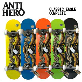 【ANTI HERO】アンタイヒーロー CLASSIC EAGLE コンプリート スケートボード デッキ スケボー 板 完成品 アンチヒーロー 7.3/7.5/7.75/8.0/8.25【あす楽対応】