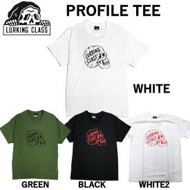 【LURKING CLASS】2021春夏 ラーキングクラス SKETCHY TANK スケッチータンク PROFILE TEE Tシャツ 半袖 アウトドア M〜XL 4カラー【あす楽対応】