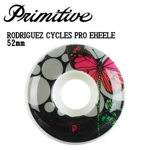 【Primitive】プリミティブ RODRIGUEZ CYCLES PRO TEAM WHEELE ウィール チーム スケートボード スケボー SKATEBOARD ONE 52mm COLOR【正規品】【あす楽対応】