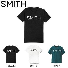 【SMITH】スミス 2019 秋冬 ESSENTIAL TEE T-shirt Tシャツ 半袖 クルーネック カットソー メンズ スノーボード 3カラー S・M・L・XL【あす楽対応】