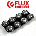 【FLUX BINDING 】フラック ビンディング ショート取付ビスセット ビンディング取り付け用 FLUXビンディング専用 16mm スノーボード/8個セット【あす楽対応】