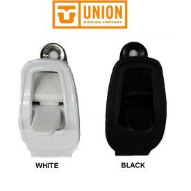 【UNION 】ユニオン アンクルラチェット バインディングパーツ ビンディング/ブラック・ホワイト/1個【あす楽対応】