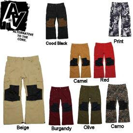 【AA HARD WEAR】ダブルエーハードウェア ウエア 14-15 Dirt Pants メンズ スノーパンツ 男性用スノーボードウェア ウエア/S・M・L・XL/8カラー