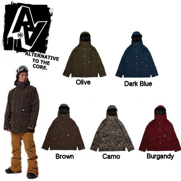 【AA HARD WEAR】ダブルエーハードウェア ウエア 14-15 Loser Jacket メンズ スノージャケット 男性用スノーボードウェア ウエア/S・M・L・XL/5カラー【あす楽対応】