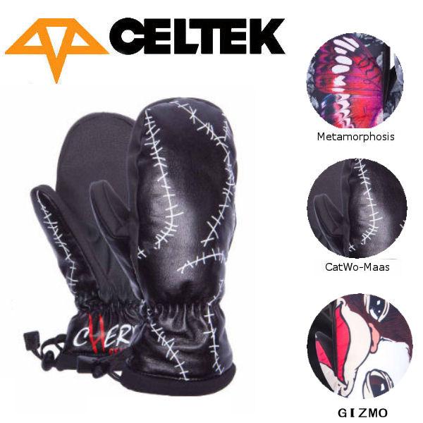 【CELTEK】セルテック2016-2017 BITTEN BY A WOMITTEN レディース スノーグローブ ミトン ミットグローブ スノーボード 3カラー【あす楽対応】