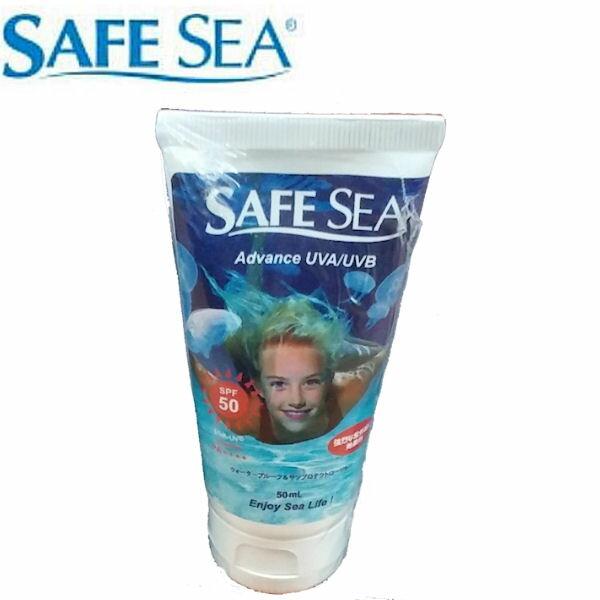 【SAFE SEA ADVANCE UVA/UVB】大人用クラゲガード+日焼け止めローション SPF50 / 50ml【あす楽対応】