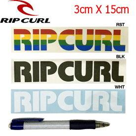 【RIP CURL】リップカール カッティングステッカー/3カラー